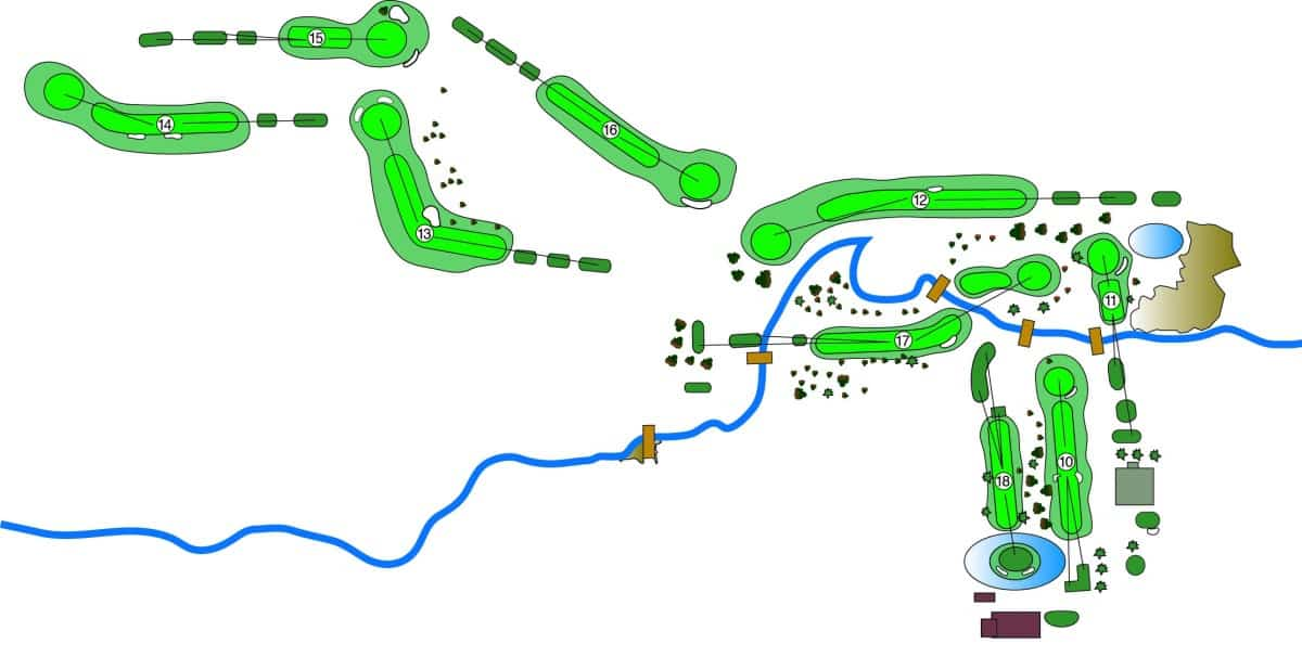 Golf Courses in Minnesota, Treasure Island